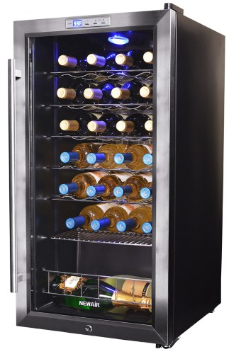 Traditionnal appartment wine cooler