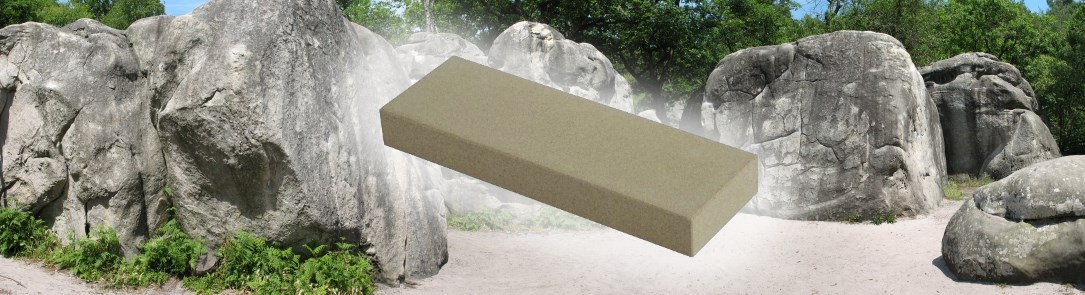 the naturally artificial sharpening stone
